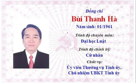 Ong Le Truong Luu lam Bi thu Tinh uy Thua Thien Hue khoa 15 - Anh 73