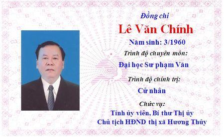 Ong Le Truong Luu lam Bi thu Tinh uy Thua Thien Hue khoa 15 - Anh 5