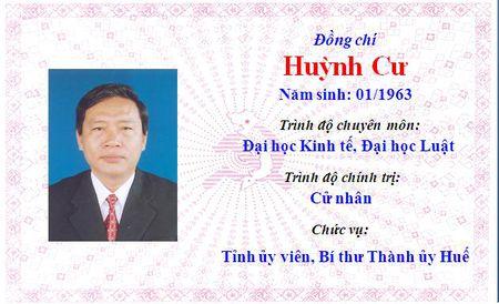 Ong Le Truong Luu lam Bi thu Tinh uy Thua Thien Hue khoa 15 - Anh 6