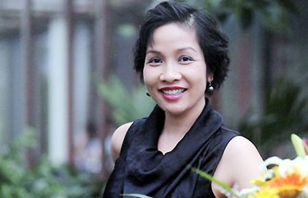 "My Linh lam dai su chuong trinh ""Chay vi trai tim 2015"" - Anh 1"