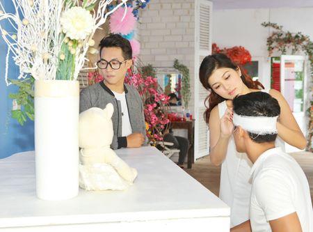 Oanh Yen lan dau quay MV cung ban trai - Anh 3
