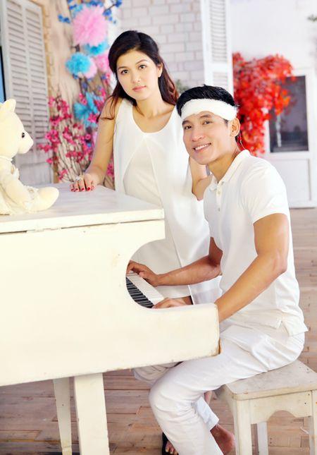 Oanh Yen lan dau quay MV cung ban trai - Anh 5