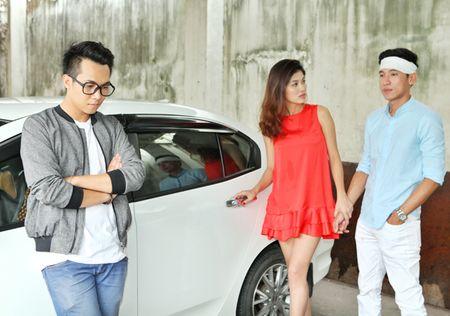 Oanh Yen lan dau quay MV cung ban trai - Anh 8