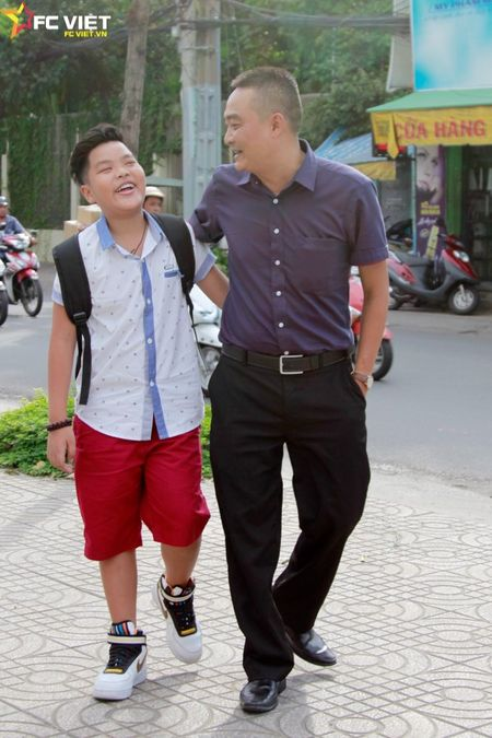 Nhung khoanh khac dang yeu cua Tien Quang va bo truoc them Chung ket - Anh 10