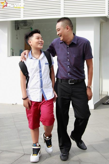 Nhung khoanh khac dang yeu cua Tien Quang va bo truoc them Chung ket - Anh 14
