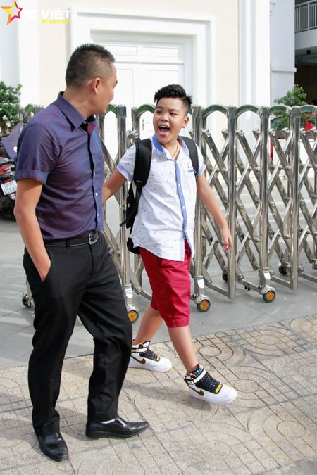 Nhung khoanh khac dang yeu cua Tien Quang va bo truoc them Chung ket - Anh 7
