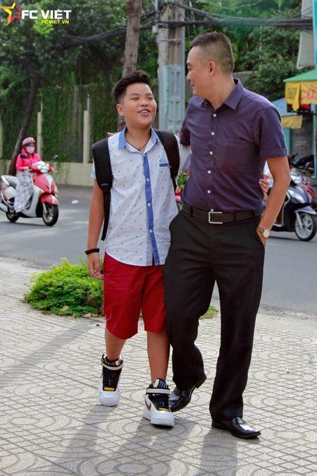 Nhung khoanh khac dang yeu cua Tien Quang va bo truoc them Chung ket - Anh 9