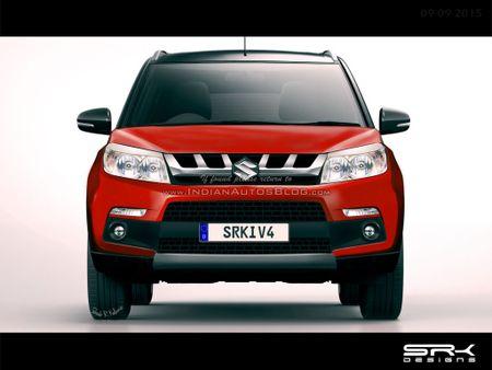 Suzuki Maruti YBA doi thu moi cua Ford EcoSport - Anh 1
