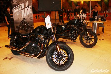 Harley-Davidson ra mat cac dong san pham 2016 tai Viet Nam - Anh 11