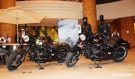 Harley-Davidson ra mat cac dong san pham 2016 tai Viet Nam - Anh 1