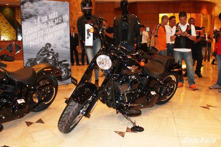 Harley-Davidson ra mat cac dong san pham 2016 tai Viet Nam - Anh 4