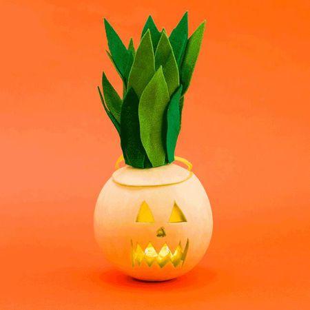 Trang tri Halloween voi den long trai cay tu khac - Anh 10