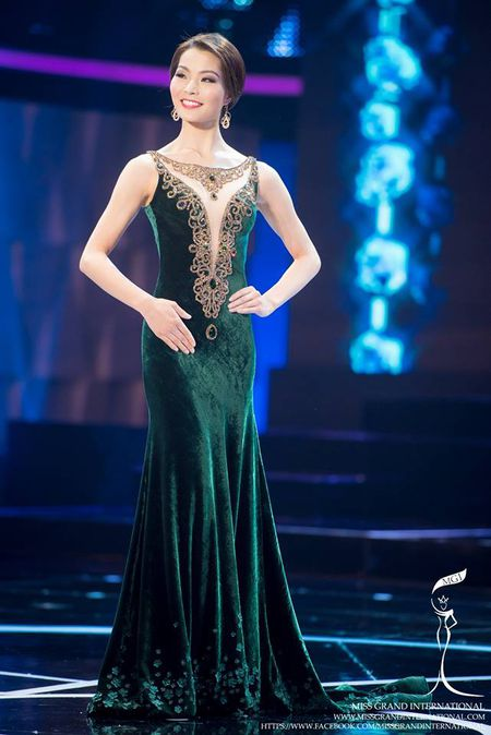 78 nhan sac bung no trong dem Ban ket Miss Grand International 2015 - Anh 7
