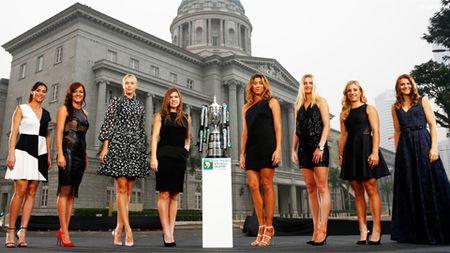 Sharapova va Halep chung bang dau tai WTA Finals - Anh 1