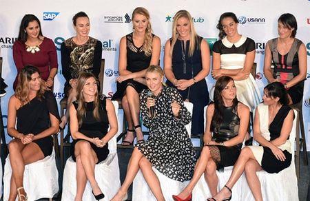 Sharapova va Halep chung bang dau tai WTA Finals - Anh 3