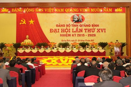 Quang Binh: Dai hoi Dang bo tinh lan thu XVI thanh cong tot dep - Anh 1