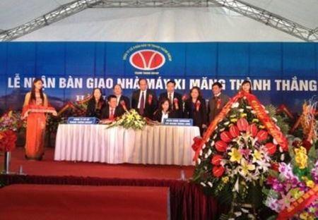 BIDV tai tro 3.500 ty dong de dau tu day chuyen 2 Xi mang Thanh Thang - Anh 1