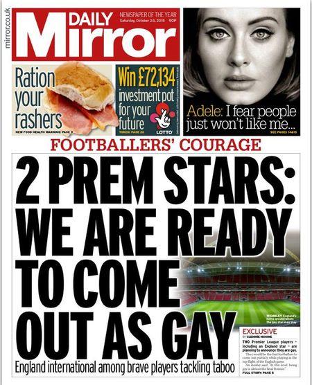Hai ngoi sao Premier League san sang thua nhan minh la gay - Anh 2