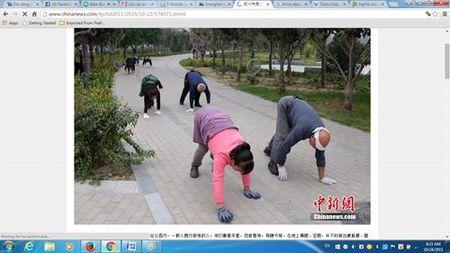 Di bo nhu dong vat - xu huong tap luyen moi o Trung Quoc - Anh 1