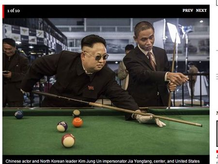 'Obama va Kim Jong-un' choi bi da o Bac Kinh - Anh 1