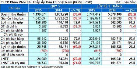 PGD: 9 thang lai rong hon 190 ty, vuot 90% ke hoach nam - Anh 1