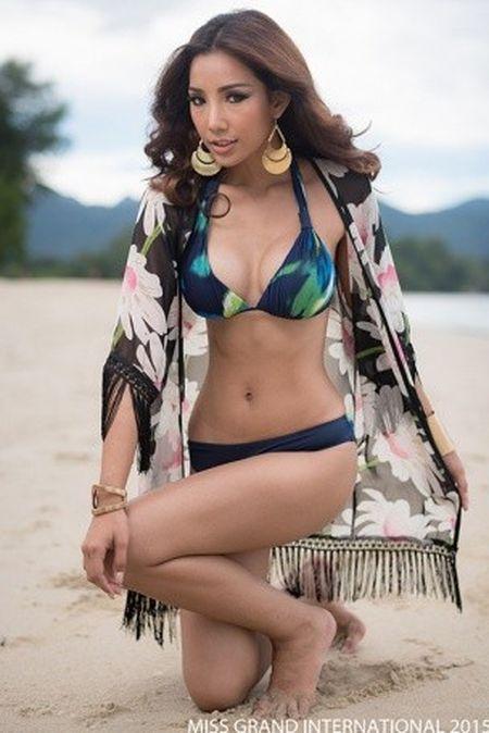 Nhung ung vien sang gia o Miss Grand International 2015 - Anh 3