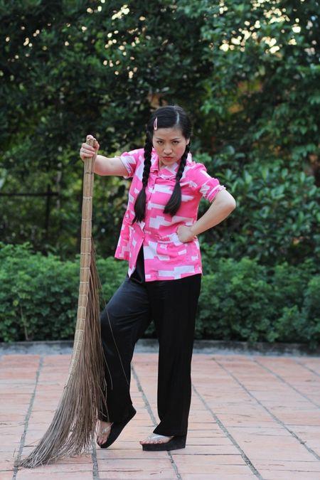 Tao hinh xau xi cua Thuy Trang trong phim moi - Anh 4