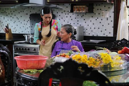 Tao hinh xau xi cua Thuy Trang trong phim moi - Anh 5