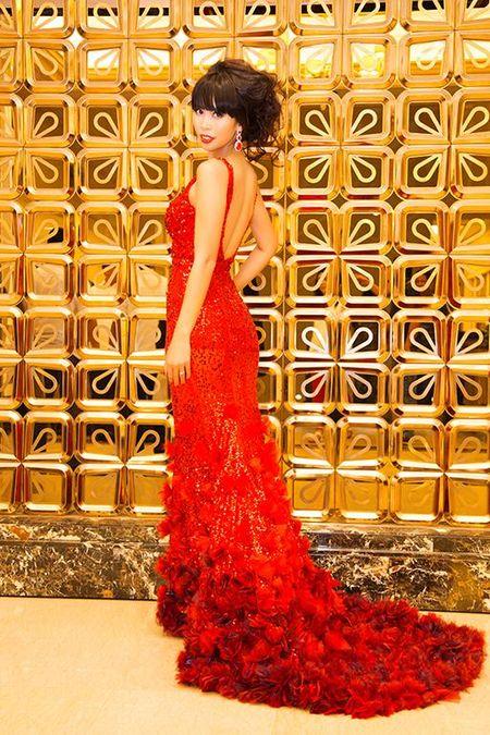 Ha Anh rang ro dem chung ket Miss Global 2015 - Anh 5