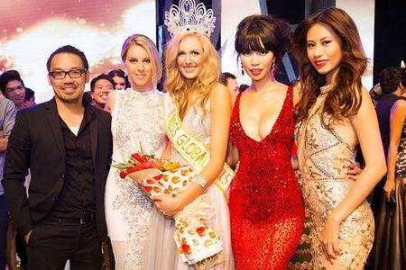 Ha Anh rang ro dem chung ket Miss Global 2015 - Anh 7