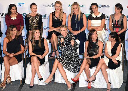 Sharapova tao dang nhu sieu mau truoc them WTA Finals - Anh 2