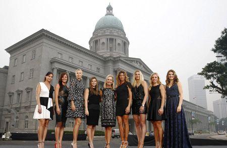 Sharapova tao dang nhu sieu mau truoc them WTA Finals - Anh 5