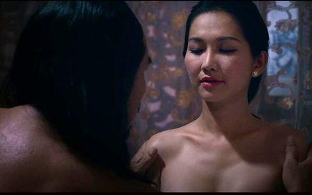 """Bat ngo voi nhung canh nong cua Hoa hau Trieu Thi Ha trong """"My Nhan"""" - Anh 4"""