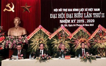 Dai hoi dai bieu lan thu 2 Hoi ho tro gia dinh liet si Viet Nam - Anh 1