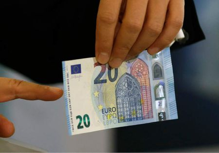 ECB chinh thuc luu hanh dong 20 euro moi co tinh bao mat cao - Anh 1