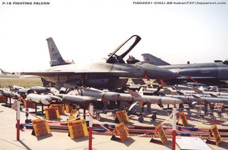 Mo xe tiem kich F-16 TNK ban ha may bay Su-24 Nga - Anh 8