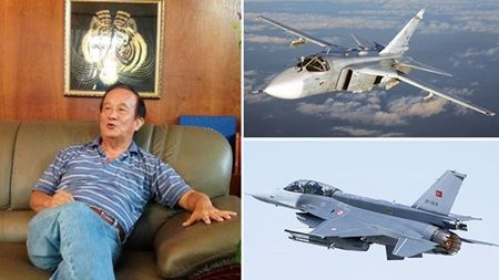 Phi cong, anh hung khong quan Viet Nam binh luan vu ban roi Su-24 Nga - Anh 2