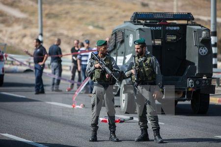 Xung dot Israel-Palestine tiep tuc leo thang tai khu Bo Tay - Anh 1