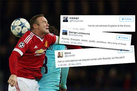 "CDV Quy do khong tiec loi ""ha be"" Rooney sau tran hoa PSV Eindhoven - Anh 1"