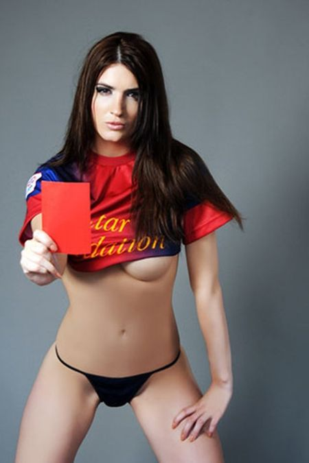 Eva Postilloni – chan dai yeu Aguero va Messi - Anh 3