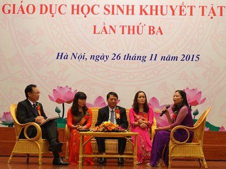Day tre khuyet tat: Khong chi la yeu thuong… - Anh 2