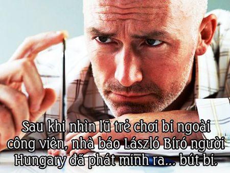 "Su that nhu dua ve cac phat minh ""vi dai"" trong lich su - Anh 9"