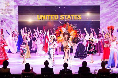 Lan Khue noi bat giua dan nguoi dep tai Miss World - Anh 2
