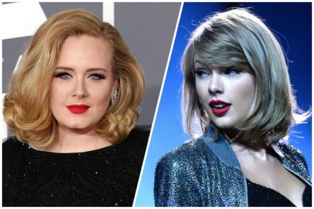 Taylor Swift o dau khi Adele len tieng? - Anh 1