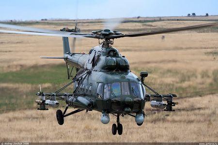 Roi truc thang Mi-8 tai Nga, it nhat 8 nguoi thiet mang - Anh 1