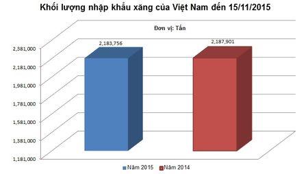Viet Nam co the tiet kiem duoc 1 ty USD tien nhap khau xang nam 2015 - Anh 1