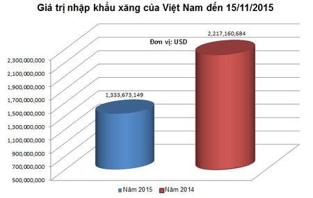 Viet Nam co the tiet kiem duoc 1 ty USD tien nhap khau xang nam 2015 - Anh 2