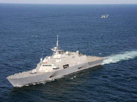 Tinh hinh Bien Dong moi nhat: Tau USS Milwaukee My da khoi hanh - Anh 1