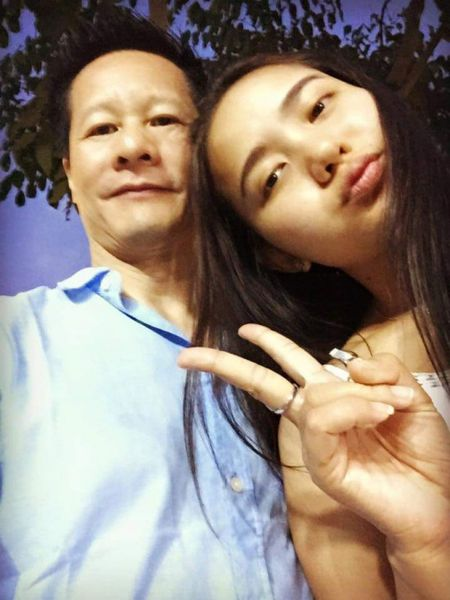 "Phan Nhu Thao ""dinh chien"", vui ve ben dai gia Duc An - Anh 4"