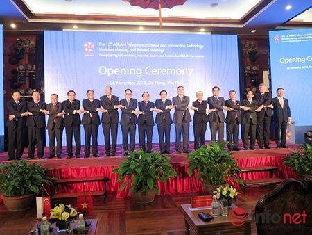 Uu tien cac sang kien thu hep khoang cach so giua cac nuoc ASEAN - Anh 1
